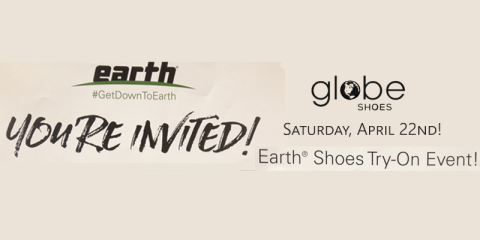 Earth Shoes Try-On Event TOMORROW, Paramus, New Jersey