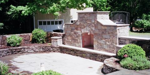 3 Stunning Outdoor Fireplace Designs, Easton, Connecticut