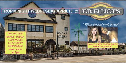 MEET THE TROPIX GIRLS WITH DJ LEFTY HERNANDEZ THIS WEDNESDAY AT EB ELLIOT'S!, Hempstead, New York