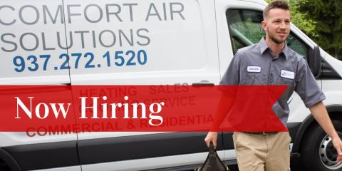 Comfort Air Solutions Is Hiring, Miamisburg, Ohio