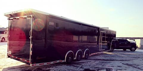 Street Outlaws' Big Chief Picks Up His New 44' inTech Gooseneck Trailer at Flying A Motorsports, Cuba, Missouri