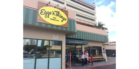 Eggs 'n Things - Ala Moana, Breakfast Restaurants, Restaurants and Food, Honolulu, Hawaii