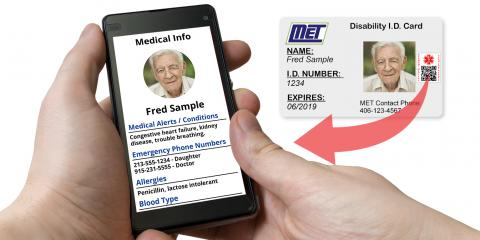 Keep Your Elderly Parent Safe with Account Medical QR Technology, Anoka, Minnesota