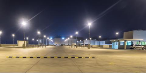 A commercial electrician explains the importance of parking lot a commercial electrician shares 3 reasons to light your parking lot lockhart texas aloadofball Images