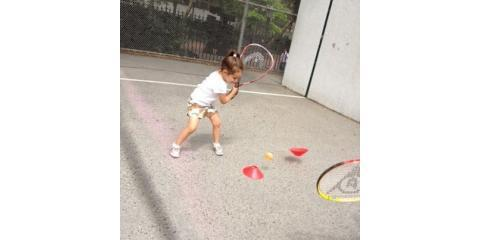A free tennis lesson from ElfTennis: what you can learn from hitting against a wall., Manhattan, New York