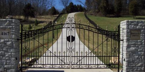 3 Benefits of the Perfect Iron Gate Design, Covington, Kentucky
