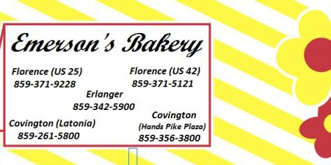 Emerson's Bakery, Donuts, Restaurants and Food, Erlanger, Kentucky