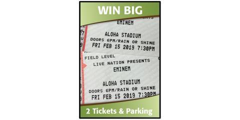 Win 2 Tickets to Eminem, Honolulu, Hawaii