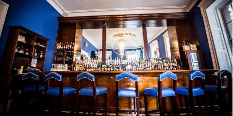The Signature Blue Bar in Hanover Square, Manhattan, New York