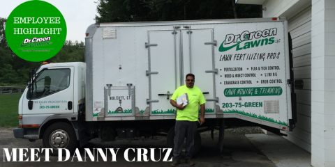 Dr. Green Lawns Employee Highlight: Meet Danny Cruz!, Wolcott, Connecticut