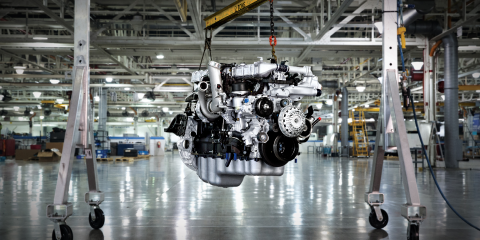 International Truck Launches new 12.4 L Engine, Henrietta, New York