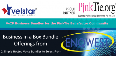 VoIP Business Bundles for the PinkTie Benefactor Community, Manhattan, New York