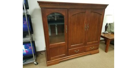 CHERRY ENTERTAINMENT CENTER – HOOKER FURNITURE - $500, St. Louis, Missouri
