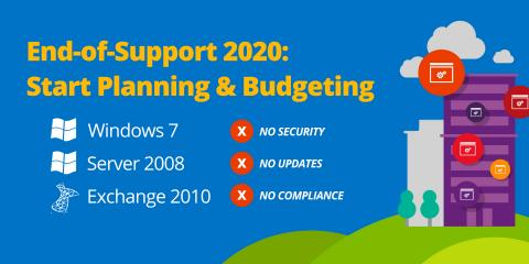 Microsoft support for Windows 7 & Windows Server 2008 ends on January 14, 2020, Lake St. Louis, Missouri