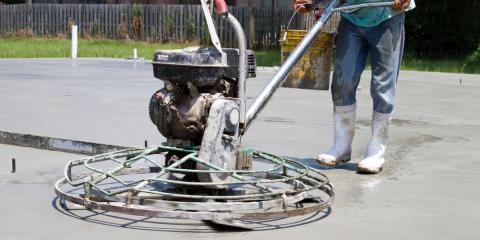 Top 3 Reasons to Rent (Not Buy) Concrete Finishing Tools, Hamilton, Ohio
