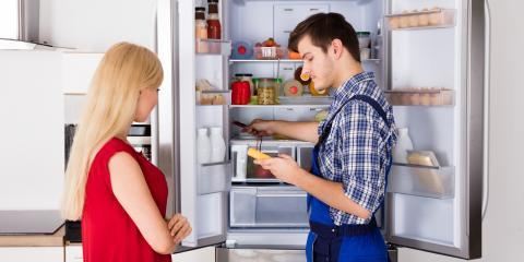 5 Critical Parts of a Refrigerator, Erlanger, Kentucky