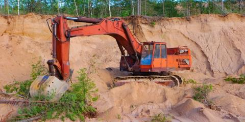 3 Leading Services of a Reliable Residential Excavating Company, Sunman, Indiana
