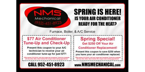 3 Items to Put on Spring Heating & Cooling System Upkeep Lists, Prior Lake, Minnesota