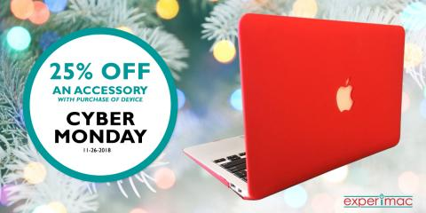 Cyber Monday Deal - 25% OFF Accessory with Purchase, Salt Lake City, Utah