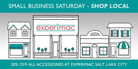 Small Business Saturday Special Offer 20% OFF Accessories, Salt Lake City, Utah