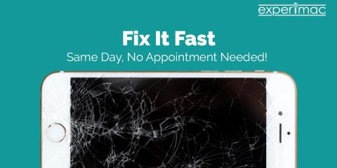 Experimac: the Best Place to Get Your Broken iPhone Fixed! More Reliable than Mall Shops, Less Expensive than Apple, Middleton, Massachusetts
