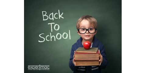 Back To School Means BIG Savings with Experimac Middleton, Middleton, Massachusetts