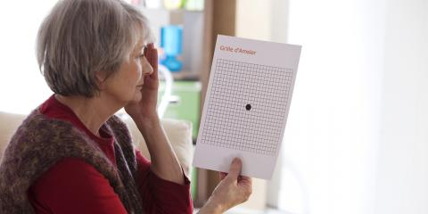 Age-Related Eye Conditions: Signs & Risk Factors of Macular Degeneration, Ashland, Kentucky