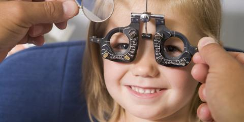 3 Things to Expect at Your Child's First Eye Exam, Brooklyn, New York