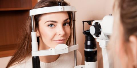 What Happens During a Routine Eye Exam?, Greensboro, North Carolina