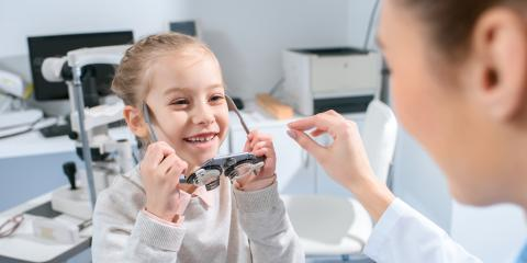 When Should My Child Get an Eye Exam?, Dayton, Ohio
