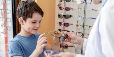 How to Make Eyeglasses Cool for Your Kids, Sodus, New York