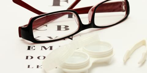 Should I Choose Eyeglasses or Contacts?, Rochester, New York