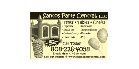 Santos Pary Central, Party Supplies, Services, Honolulu, Hawaii