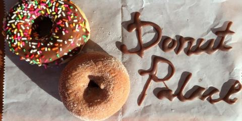 Donut Palace, Donuts, Restaurants and Food, Monroe, Louisiana