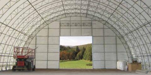 Advantages of Fabric Covered Steel Buildings, Fairbanks, Alaska