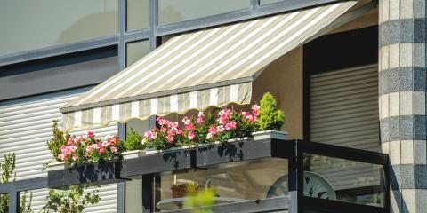 How to Choose Between Metal & Fabric Awnings?, Lexington-Fayette, Kentucky