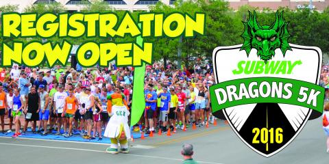 Looking for Fun Things to do This Summer? Sign up for the Subway® Dragons 5K, Dayton, Ohio