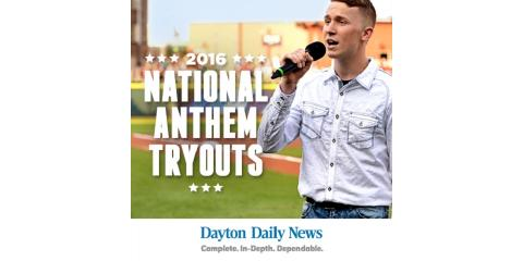 The Dayton Dragons Announce Your Chance to Sing the National Anthem at a Professional Baseball Game, Dayton, Ohio