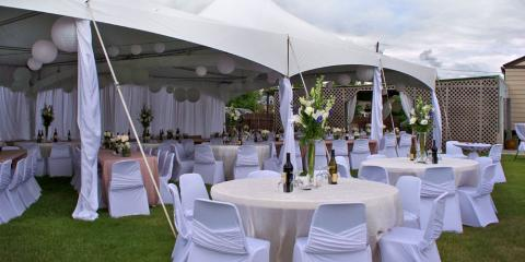 5 Reasons to Use an Event Tent for Your Outdoor Wedding or Reception, Fairbanks, Alaska