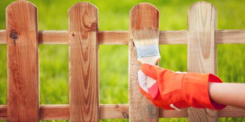 5 Benefits of Staining a Wooden Fence, Fairbanks, Alaska