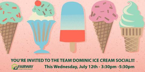FREE ICE CREAM SOCIAL - YOU'RE INVITED!, Edina, Minnesota