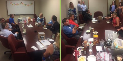 Thanks to Everyone Who Came Out to the Team Dominic ICE CREAM SOCIAL!, Edina, Minnesota