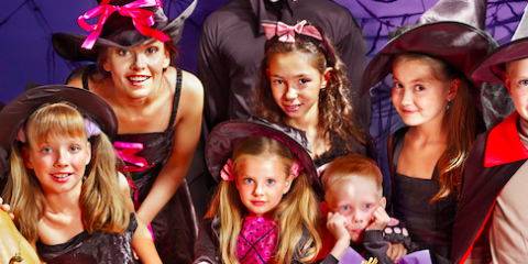 Halloween Family Event at Pearlridge Center Shopping Mall in Aiea, Ewa, Hawaii