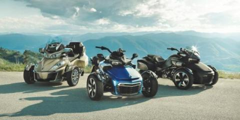 Why the Can-Am Spyder Is the Hottest Ride on the Road, Cuba, Missouri