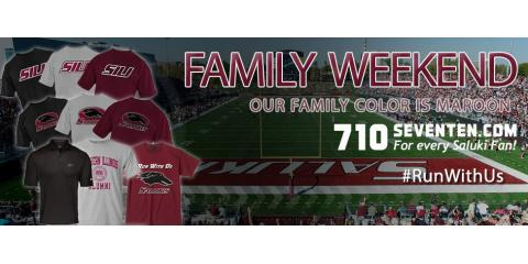Get ready for Saluki Family Weekend, Carbondale, Illinois
