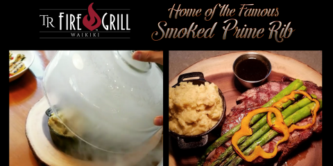 Honolulu's Premier Steakhouse Unveils Its Famous Smoked Prime Rib, Honolulu, Hawaii