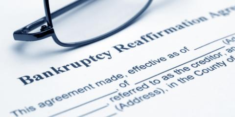 A Brief Guide to Affirmation Debt After Filing for Bankruptcy, Farmington, Connecticut