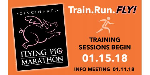 Get fit with Up and Running's Flying Pig Half Marathon and Marathon Training Program, Washington, Ohio