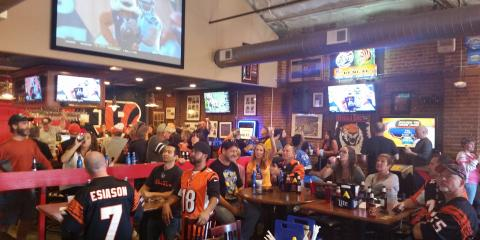 Grilled wings Cold Beer and Football, Cincinnati, Ohio