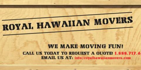Royal Hawaiian Movers, Moving Companies, Real Estate, Honolulu, Hawaii